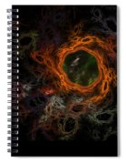 Through The Worm Hole Spiral Notebook