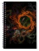 Through The Worm Hole Spiral Notebook