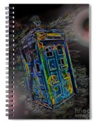 Tardis - Through Time And Space Spiral Notebook