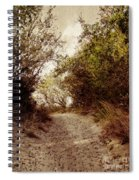 Thru The Dunes Spiral Notebook