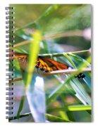 Thru The Leaves Spiral Notebook