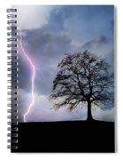 Thunder And Lightning Spiral Notebook