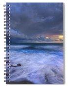 Thunder Tides Spiral Notebook