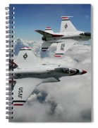 Thunderbirds Of The Future Spiral Notebook