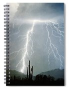 Thunderbolts From  The Heavens Above Spiral Notebook