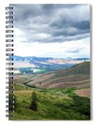 Thunderclouds Over The Hills Spiral Notebook
