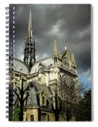 Thunderous Notre Dame Spiral Notebook