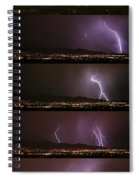 Thunderstorm Sequence Spiral Notebook