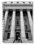 Thurgood Marshall United States Courthouse, Lower Manhattan New  Spiral Notebook
