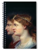 Tiberius & Agrippina Spiral Notebook