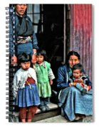 Tibetan Refugees Spiral Notebook