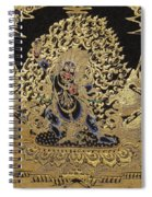 Tibetan Thangka - Vajrapani - Protector And Guide Of Gautama Buddha Spiral Notebook