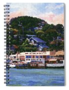 Tiburon California Waterfront Spiral Notebook