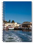 Tiburon Waterfront Spiral Notebook