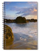 Tidal Flow Spiral Notebook