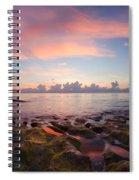 Tidal Pools At Sunrise Spiral Notebook