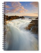 Tidal Surge Spiral Notebook