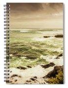 Tidal Vastness Spiral Notebook