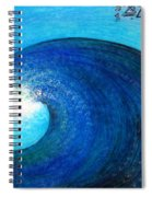 Tidal Wave. Power And Beauty Spiral Notebook