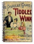 Tiddledy Winks Spiral Notebook