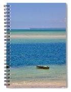 Tide Colours Spiral Notebook