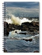 Tide Coming In Spiral Notebook