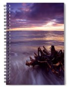Tide Driven Spiral Notebook