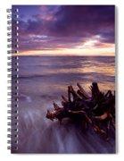 Tide Driven Spiral Notebook