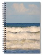 Tide Rolling To The Shores Spiral Notebook