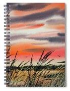 Tideland Sunset Spiral Notebook