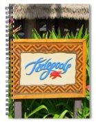 Tidepools Restaurant Spiral Notebook