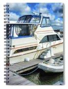 Tidewater Yacht Marina 5 Spiral Notebook