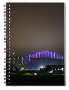 Tie Dye Bridge Spiral Notebook