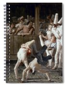 Tiepolo: Acrobats, 18th C Spiral Notebook