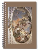 Tiepolo Palacio Real The Apotheosis Of The Spanish Monarchy Giovanni Battista Tiepolo Spiral Notebook