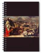 tiepolo15 Giovanni Battista Tiepolo Spiral Notebook