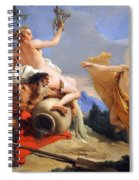Tiepolo's Apollo Pursuing Daphne Spiral Notebook
