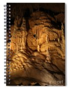 Tiers Of Formation - Cave Spiral Notebook