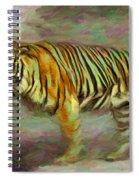 Save Tiger Spiral Notebook
