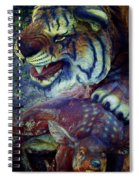 Tiger And Deer Spiral Notebook