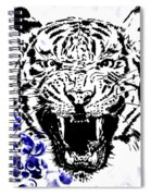 Tiger And Paisley Spiral Notebook
