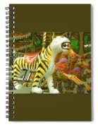Tiger Carousel Spiral Notebook