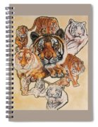 Tiger Haven Spiral Notebook