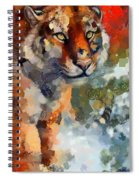 Tiger Hotty Totty Style Spiral Notebook