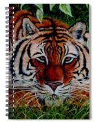 Tiger In Jungle Spiral Notebook