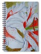 Tiger Lilly Spiral Notebook