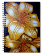 Tiger Lily Times Two Spiral Notebook
