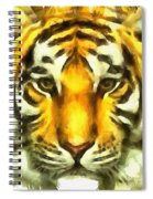 Tiger Painted Spiral Notebook