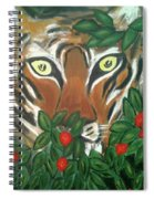 Tiger Prey  Spiral Notebook