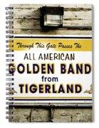 Tigerland Band Spiral Notebook